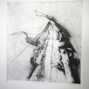 Mechanised Objects II (etching and aquatint)