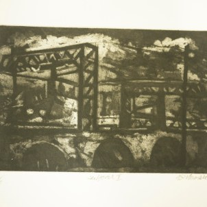 Salford I (etching and aquatint)