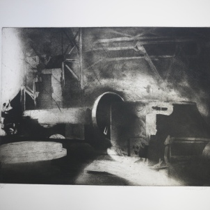 Untitled 1 Sheffield (etching and aquatint)