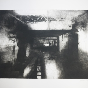 Untitled 2 Sheffield (etching and aquatint)