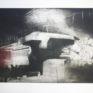 Untitled 3 Sheffield (etching and aquatint)